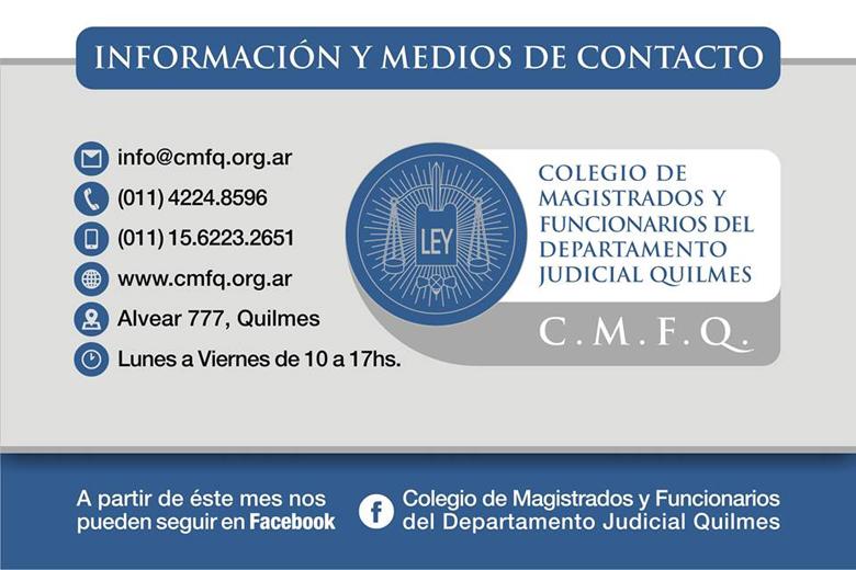 Información y medios de contacto