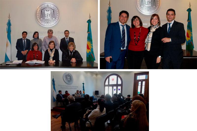 C.M.F.Q. -  Nuevos Representantes de la Comisión de Secretarios, Aux. Letrados y Funcionarios Departamental