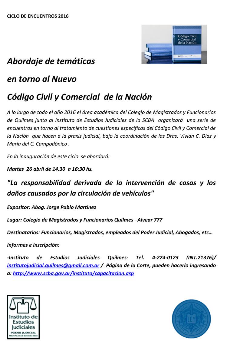 Curso gratuito sobre: LA RESPONSABILIDAD DERIVADA DE LA INTERVENCIÓN DE COSAS Y LOS DAÑOS CAUSADOS POR LA CIRCULACIÓN DE VEHÍCULOS