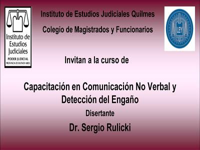 C.M.F.Q. - Curso: CAPACITACIÓN EN COMUNICACIÓN NO VERBAL Y DETECCIÓN DEL ENGAÑO