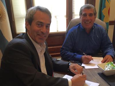 Nuevo convenio con el CLUB SOCIAL Y DEPORTIVO JUVENTUD DE BERNAL