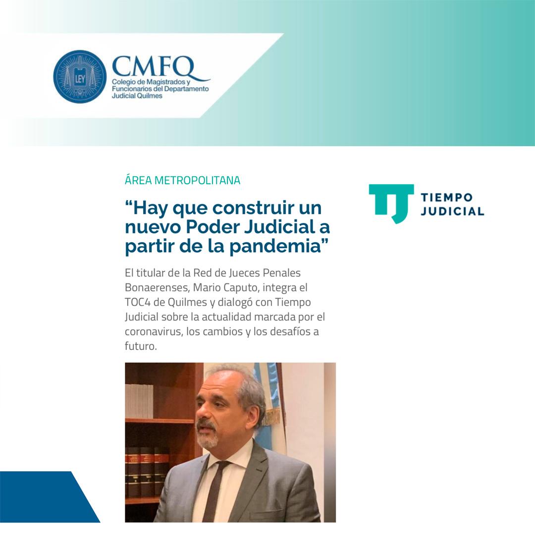 Entrevista a nuestro presidente institucional: DR. MARIO DANIEL CAPUTO