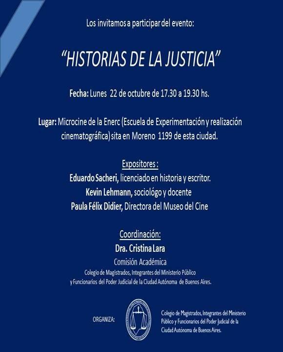 //HISTORIAS DE LA JUSTICIA//22 de Octubre//CABA