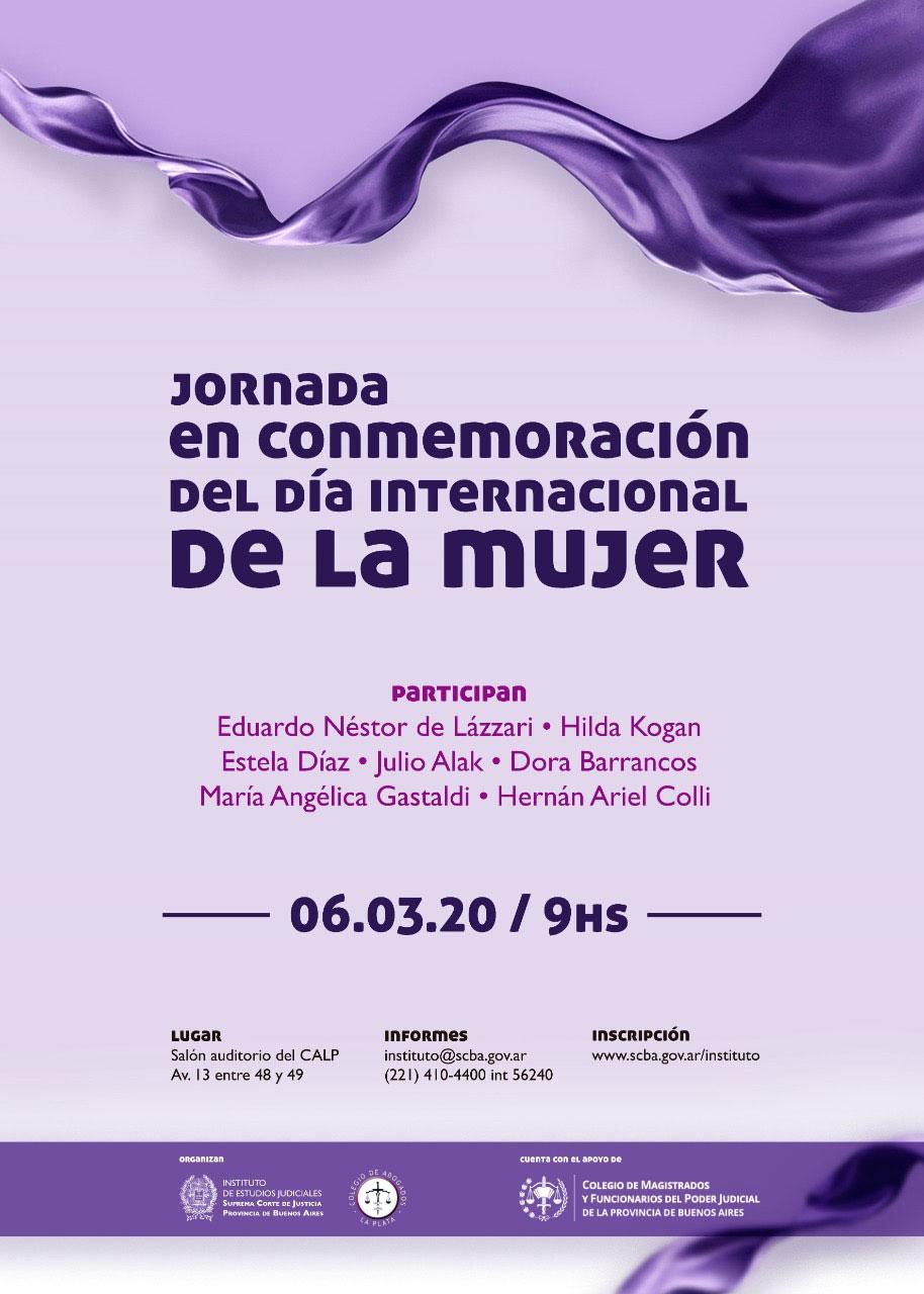 Jornada por el Día Internacional de la Mujer y reunión del Consejo Consultivo de Violencia Familiar y de Género