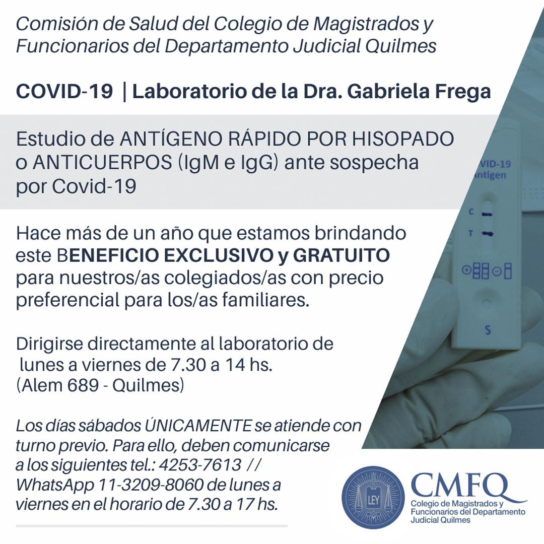 Test gratuitos de COVID-19