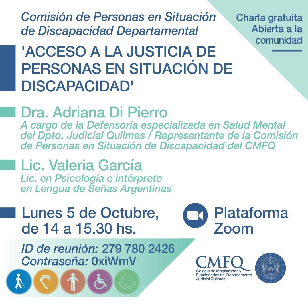 ACCESO A LA JUSTICIA DE PERSONAS EN SITUACIÓN DE DISCAPACIDAD