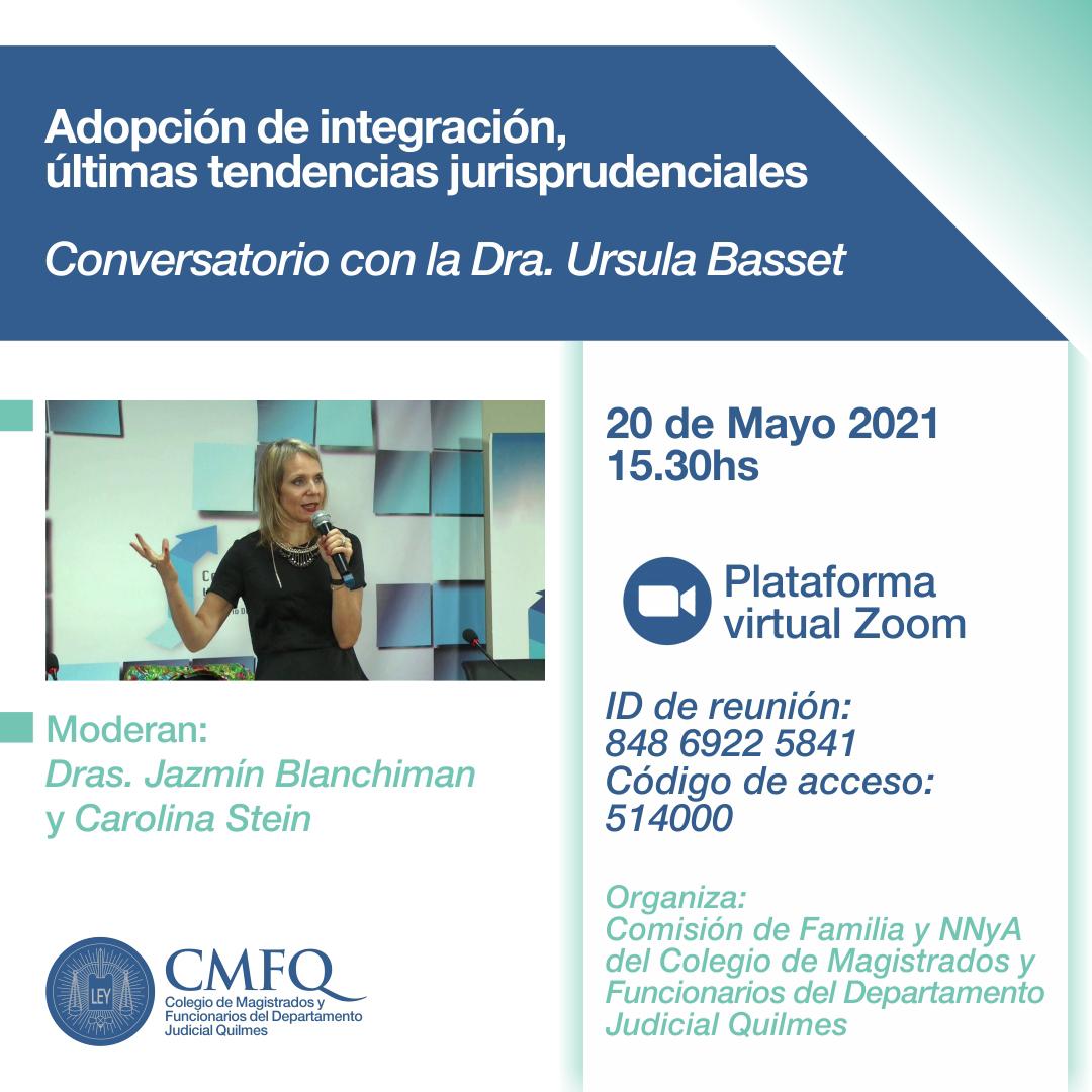CMFQ - Conversatorio: Adopción de integración, últimas tendencias jurisprudenciales