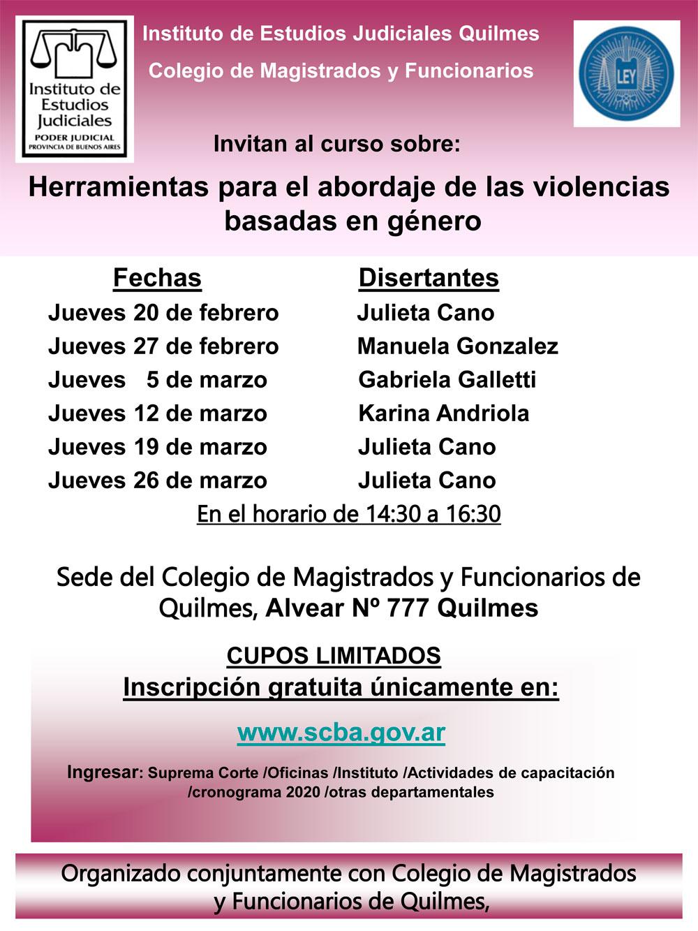 HERRAMIENTAS PARA EL ABORDAJE DE LAS VIOLENCIAS BASADAS EN GENERO