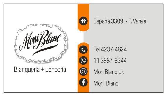 Blanquería y lencería MONI BLANC