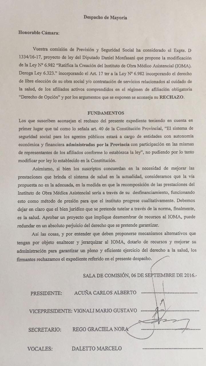 Comisión Provincial de Secretarios y Auxiliares Letrados