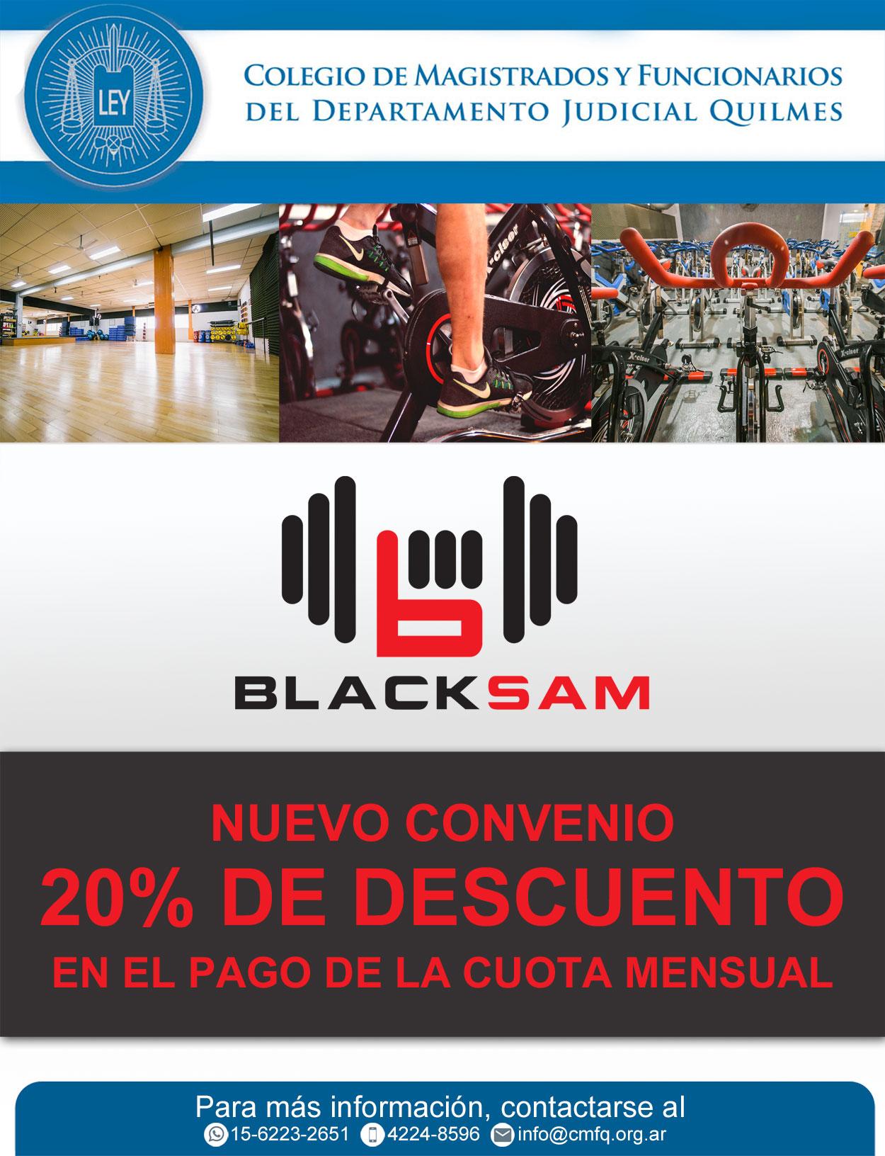 NUEVO CONVENIO BLACK SAM