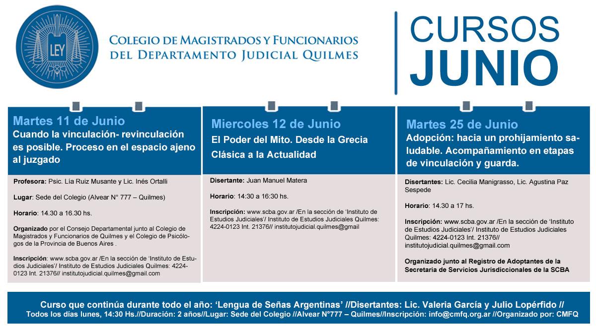 Agenda//Cursos//Junio