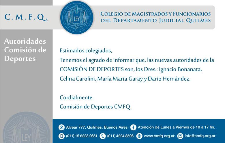 Comisión de Deportes CMFQ