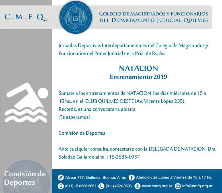 Entrenamiento // NATACION