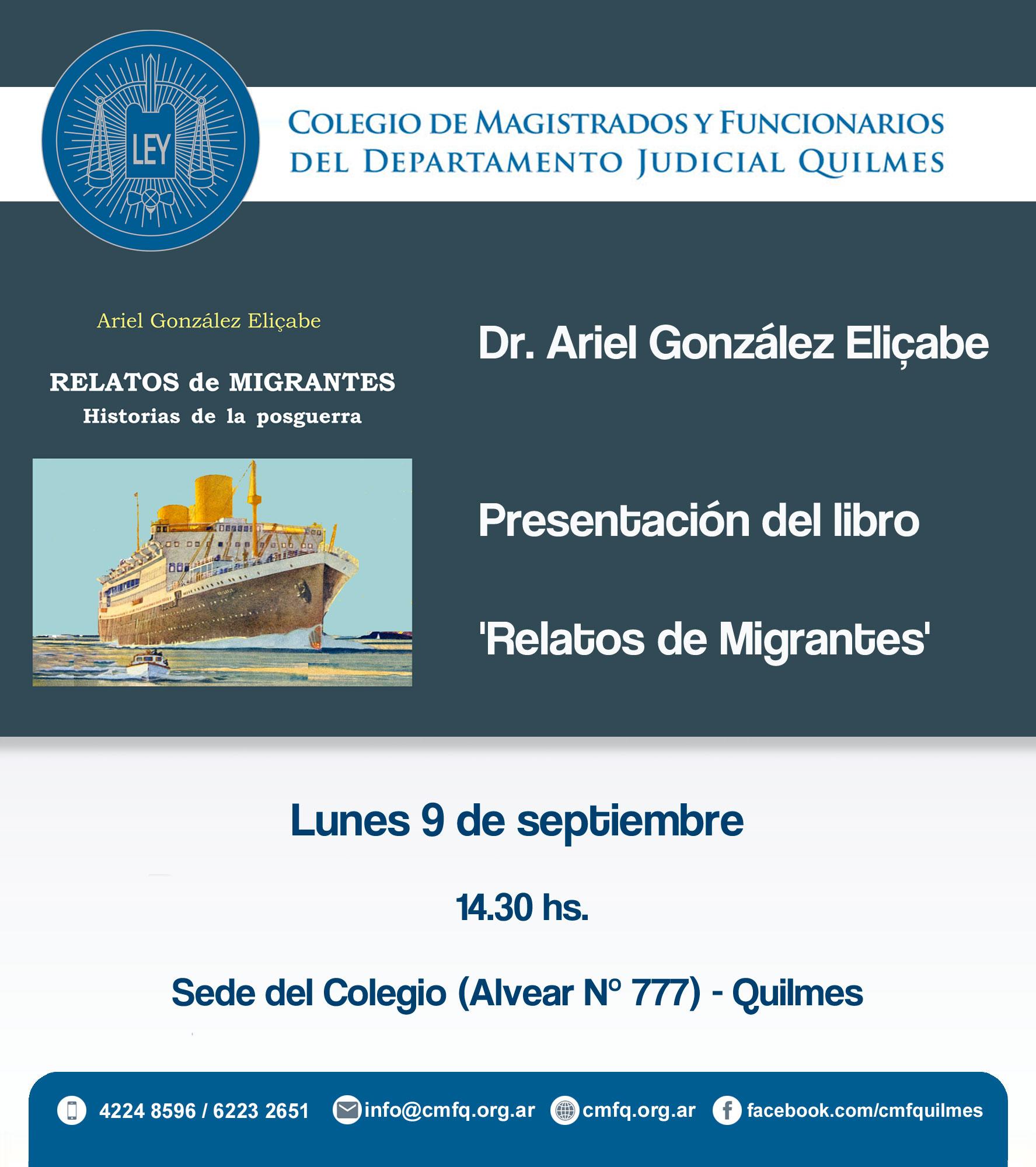 Dr. Ariel González Eliçabe
