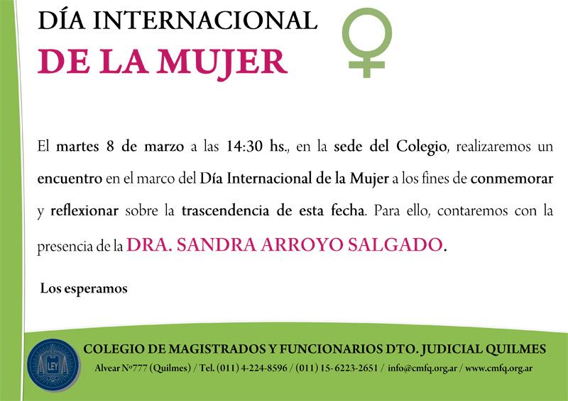 CMFQ - DÍA INTERNACIONAL DE LA MUJER