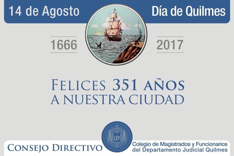 351 ANIVERSARIO DE LA CIUDAD DE QUILMES
