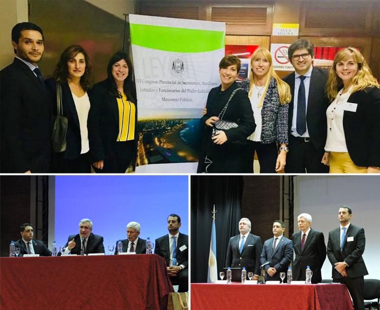 Exitoso Congreso de Secretarios del Poder Judicial y Ministerio Público en Mar del Plata