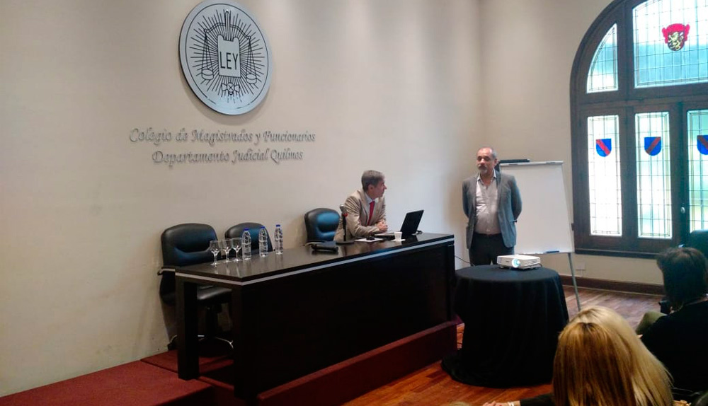 Disertación del Dr. Enrique De Rosa Alabaster