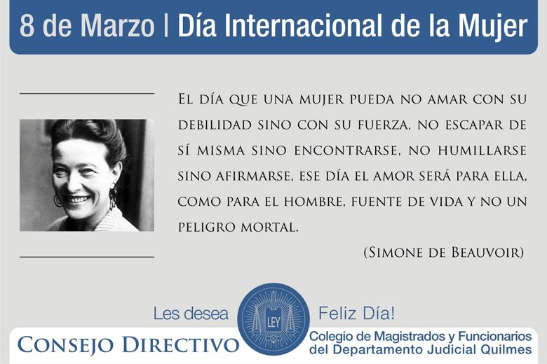 8 de Marzo/Día Internacional de la Mujer