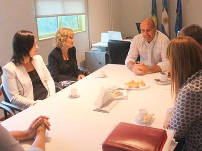 CMFQ - Reunión con el Sr. Intendente de Quilmes Martiniano Molina