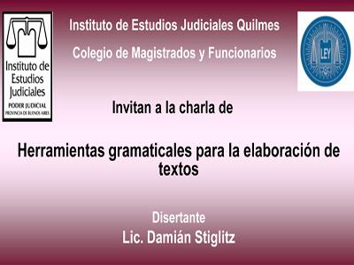 Curso gratuito sobre: HERRAMIENTAS GRAMATICALES PARA LA ELABORACION DE TEXTOS